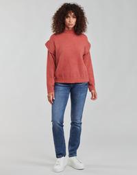 tekstylia Damskie Jeansy straight leg Freeman T.Porter ALEXA STRAIGHT SDM Niebieski / Fonce