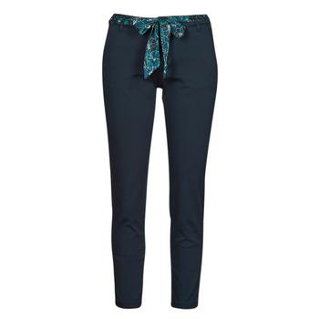 tekstylia Damskie Spodnie z pięcioma kieszeniami Freeman T.Porter CLAUDIA FELICITA Marine