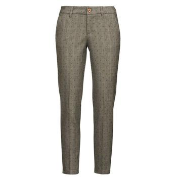 tekstylia Damskie Spodnie z pięcioma kieszeniami Freeman T.Porter CLAUDIA PONGO Szary