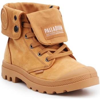 Buty Trampki wysokie Palladium Pampa Baggy NBK 76434-717 brązowy