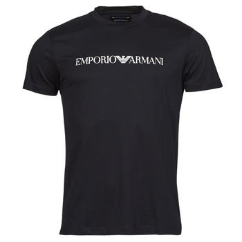 tekstylia Męskie T-shirty z krótkim rękawem Emporio Armani 8N1TN5 Czarny