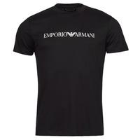 tekstylia Męskie T-shirty z krótkim rękawem Emporio Armani 8N1TN5 Marine