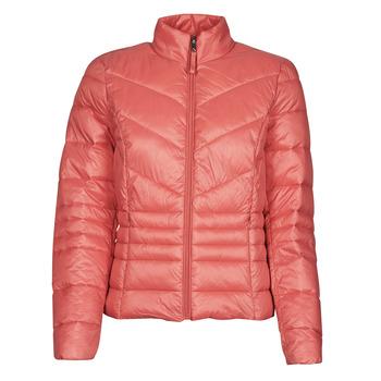 tekstylia Damskie Kurtki pikowane Vero Moda VMSORAYAZIP Różowy