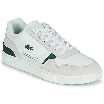 Buty Męskie Trampki niskie Lacoste T-CLIP 0120 3 SMA Biały / Beżowy