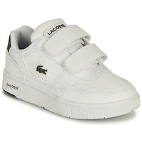 Buty Dziecko Trampki niskie Lacoste T-CLIP 0121 1 SUI Biały