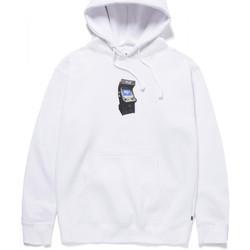 tekstylia Męskie Bluzy Huf Sweat arcade hood Biały