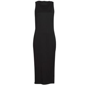 tekstylia Damskie Sukienki krótkie Karl Lagerfeld KITTED WRAP DRESS Czarny