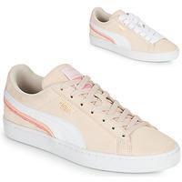 Buty Damskie Trampki niskie Puma SUEDE TRIPLEX Różowy / Biały