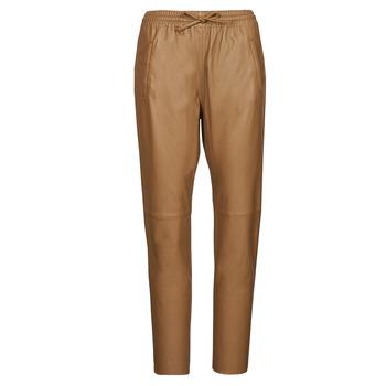 tekstylia Damskie Spodnie z pięcioma kieszeniami Oakwood GIFT Camel