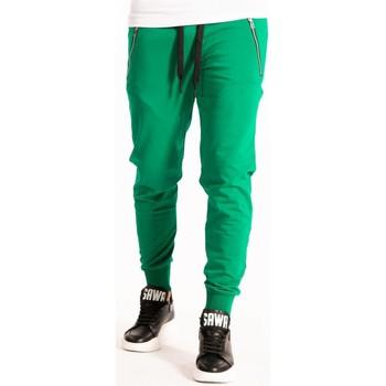tekstylia Męskie Spodnie dresowe Takeshy Kurosawa  Zielony