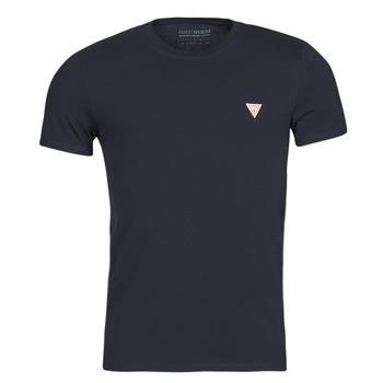 tekstylia Męskie T-shirty z krótkim rękawem Guess CN SS CORE TEE Marine