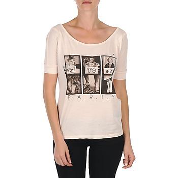 tekstylia Damskie T-shirty z krótkim rękawem Bench CREEPTOWN Różowy
