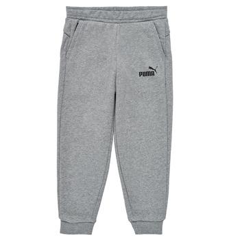 tekstylia Chłopiec Spodnie dresowe Puma ESSENTIAL SLIM PANT Szary