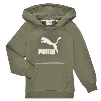 tekstylia Chłopiec Bluzy Puma T4C HOODIE Kaki
