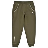 tekstylia Chłopiec Spodnie dresowe Puma T4C SWEATPANT Kaki