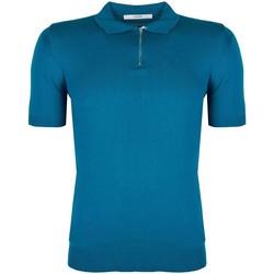 tekstylia Męskie Koszulki polo z krótkim rękawem Takeshy Kurosawa  Niebieski