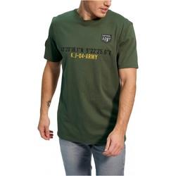 tekstylia Męskie T-shirty z krótkim rękawem Kaporal TEFAR Zielony