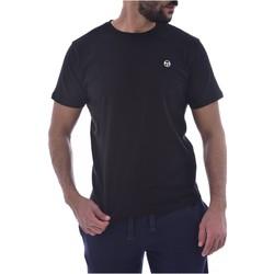 tekstylia Męskie T-shirty z krótkim rękawem Sergio Tacchini 103.10007-SS T-SHIRT ICONIC Czarny