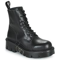 Buty Buty za kostkę New Rock M-MILI084N-S3 Czarny