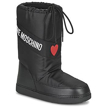 Buty Damskie Śniegowce Love Moschino JA24032G1D Czarny