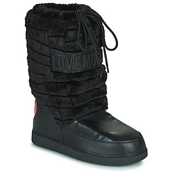 Buty Damskie Śniegowce Love Moschino JA24232G0D Czarny