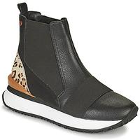 Buty Damskie Trampki wysokie Gioseppo LUNNER Czarny / Leopard