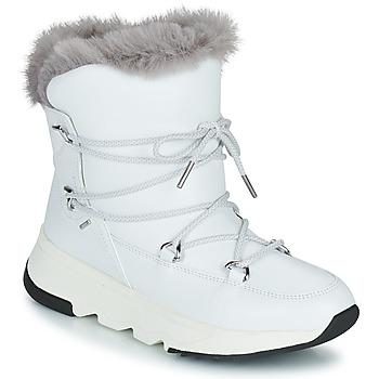 Buty Damskie Śniegowce Geox FALENA ABX Biały