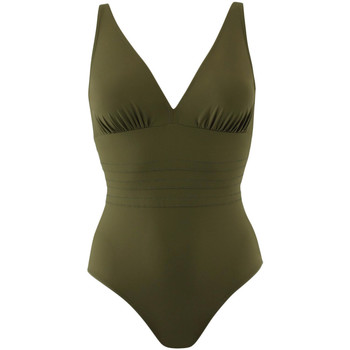 tekstylia Damskie Kostium kąpielowy jednoczęściowy Janine Robin 991015-25 Zielony