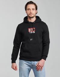 tekstylia Męskie Bluzy Diesel S-GIRK-HOOD-B8 Czarny