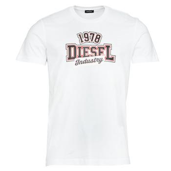 tekstylia Męskie T-shirty z krótkim rękawem Diesel T-DIEGOS-K26 Biały