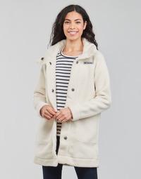 tekstylia Damskie Płaszcze Columbia PANORAMA LONG JACKET Biały