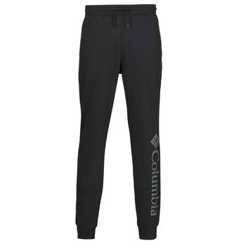 tekstylia Męskie Spodnie dresowe Columbia M CSC LOGO FLEECE JOGGER II Czarny / Szary
