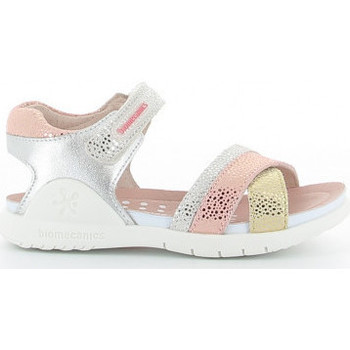 Buty Dziewczynka Sandały Biomecanics 212173 A Argenté