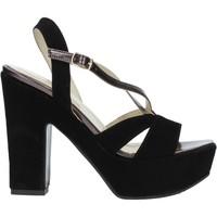 Buty Damskie Sandały Grace Shoes TQ 126 Czarny