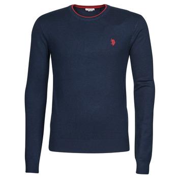 tekstylia Męskie Swetry U.S Polo Assn. ALF 53147 EH03 Niebieski