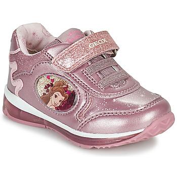 Buty Dziewczynka Trampki niskie Geox TODO Różowy