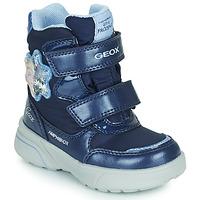 Buty Dziewczynka Śniegowce Geox SVEGGEN ABX Marine