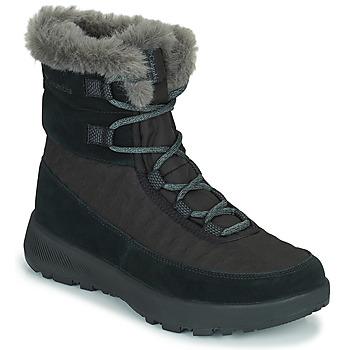 Buty Damskie Śniegowce Columbia SLOPESIDE PEAK LUXE Czarny