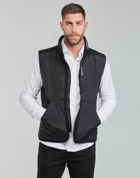 tekstylia Męskie Kurtki pikowane Calvin Klein Jeans PADDED VEST Czarny
