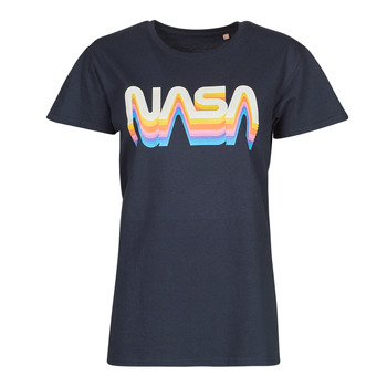 tekstylia T-shirty z krótkim rękawem Yurban ORAIN Marine