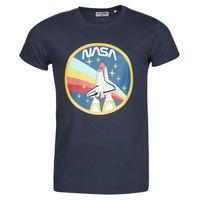 tekstylia Męskie T-shirty z krótkim rękawem Yurban ONASA Marine