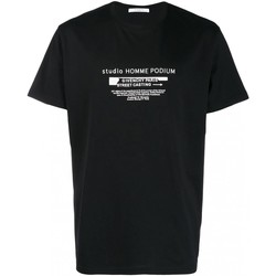 tekstylia Męskie T-shirty z krótkim rękawem Givenchy BM70SC3002 Czarny