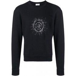 tekstylia Męskie Bluzy Yves Saint Laurent BMK551630 Czarny