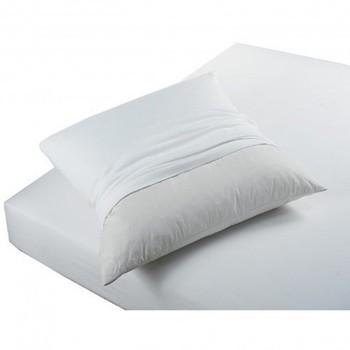 Dom Poszewka na poduszkę, poduszka wałek Today PROTÈGE OREILLERS ABSORBANT ANTI ACARIENS Biały