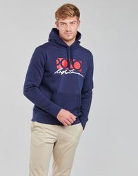 tekstylia Męskie Bluzy Polo Ralph Lauren TENTY Marine