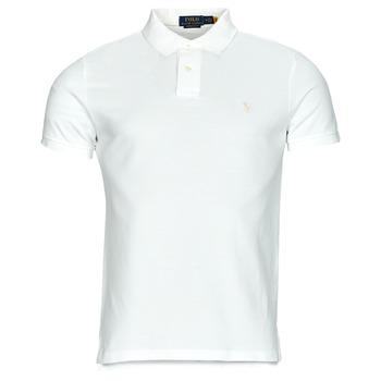 tekstylia Męskie Koszulki polo z krótkim rękawem Polo Ralph Lauren PETRINA Biały