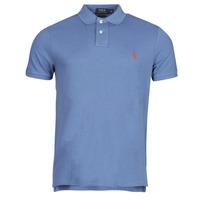 tekstylia Męskie Koszulki polo z krótkim rękawem Polo Ralph Lauren PETRINA Niebieski