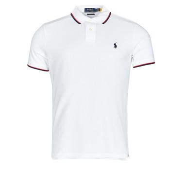 tekstylia Męskie Koszulki polo z krótkim rękawem Polo Ralph Lauren CALMIRA Biały