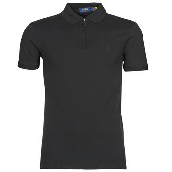 tekstylia Męskie Koszulki polo z krótkim rękawem Polo Ralph Lauren BATTYNA Czarny