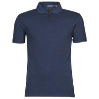 tekstylia Męskie Koszulki polo z krótkim rękawem Polo Ralph Lauren BATTYNA Niebieski